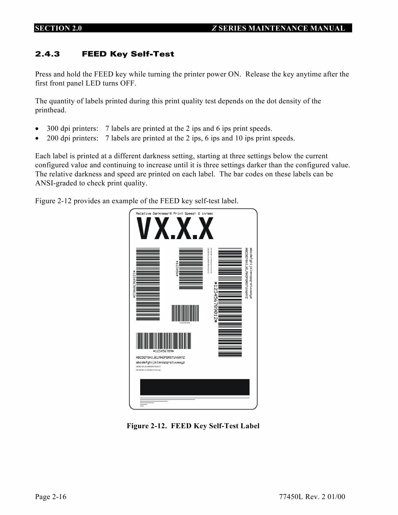 zebra z 4000 service manual